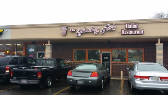 Spinning Fork Restaurant Menu Fairfield